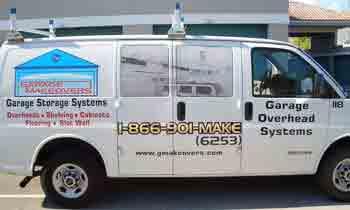 Garage Makeovers Truck
