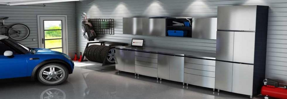 Steel Cabinets Steel Countertop