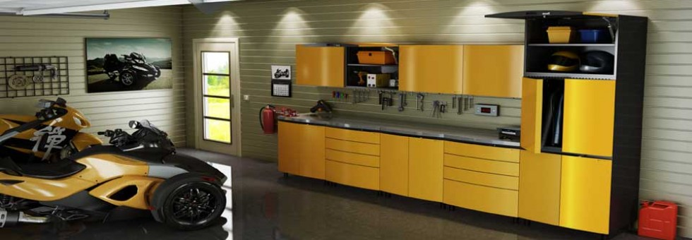 Steel Cabinets Yespa Yellow